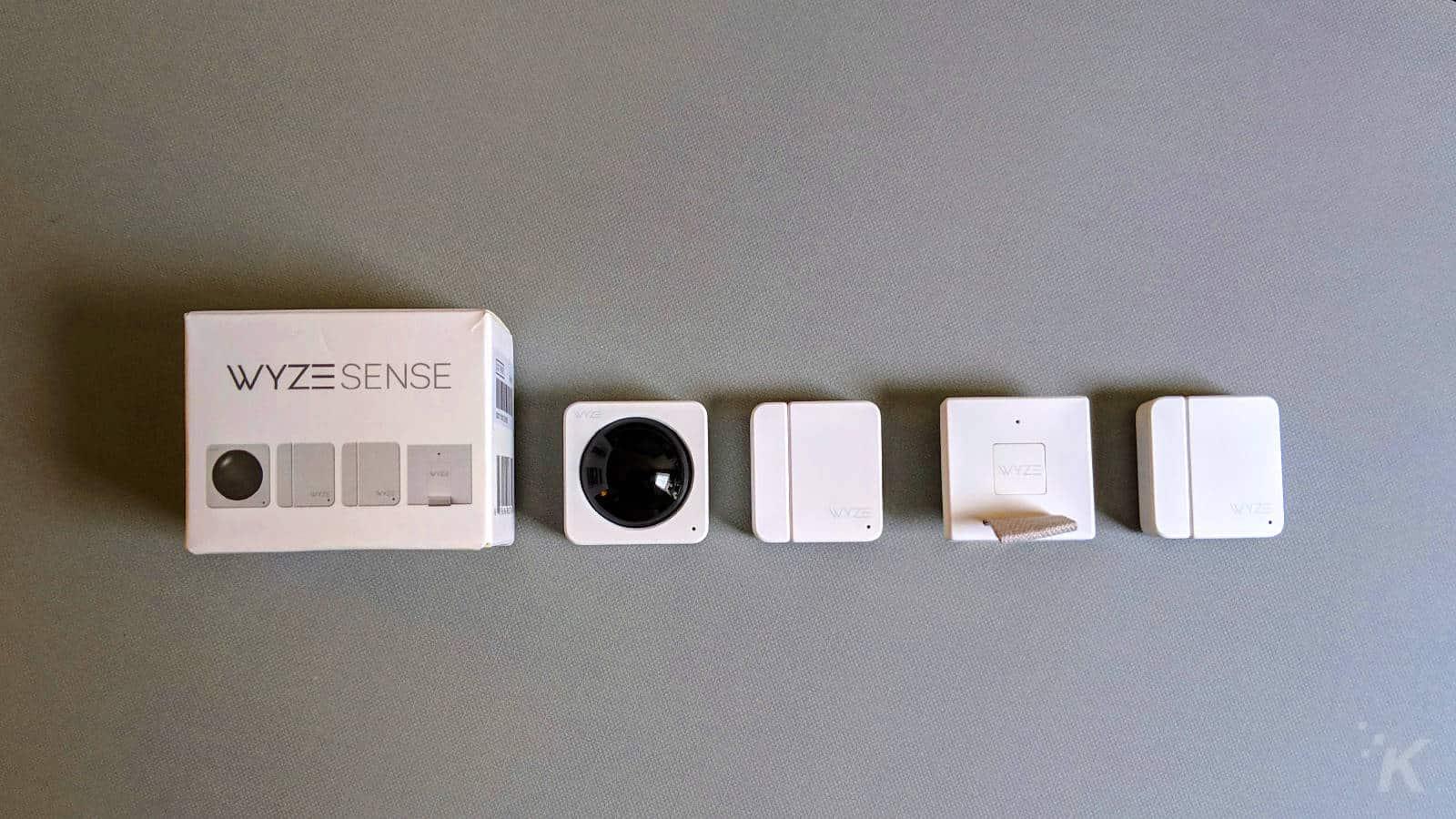 wyze sense camera system