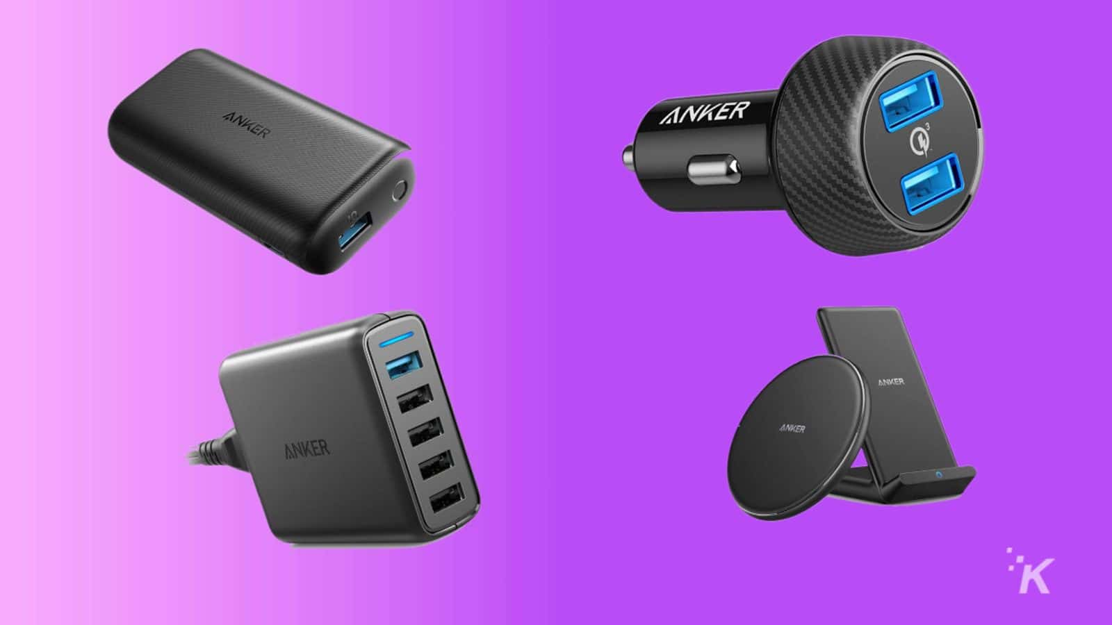 A buttload of Anker charging accessories are extremely