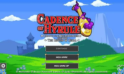 cadence of hyrule main screen