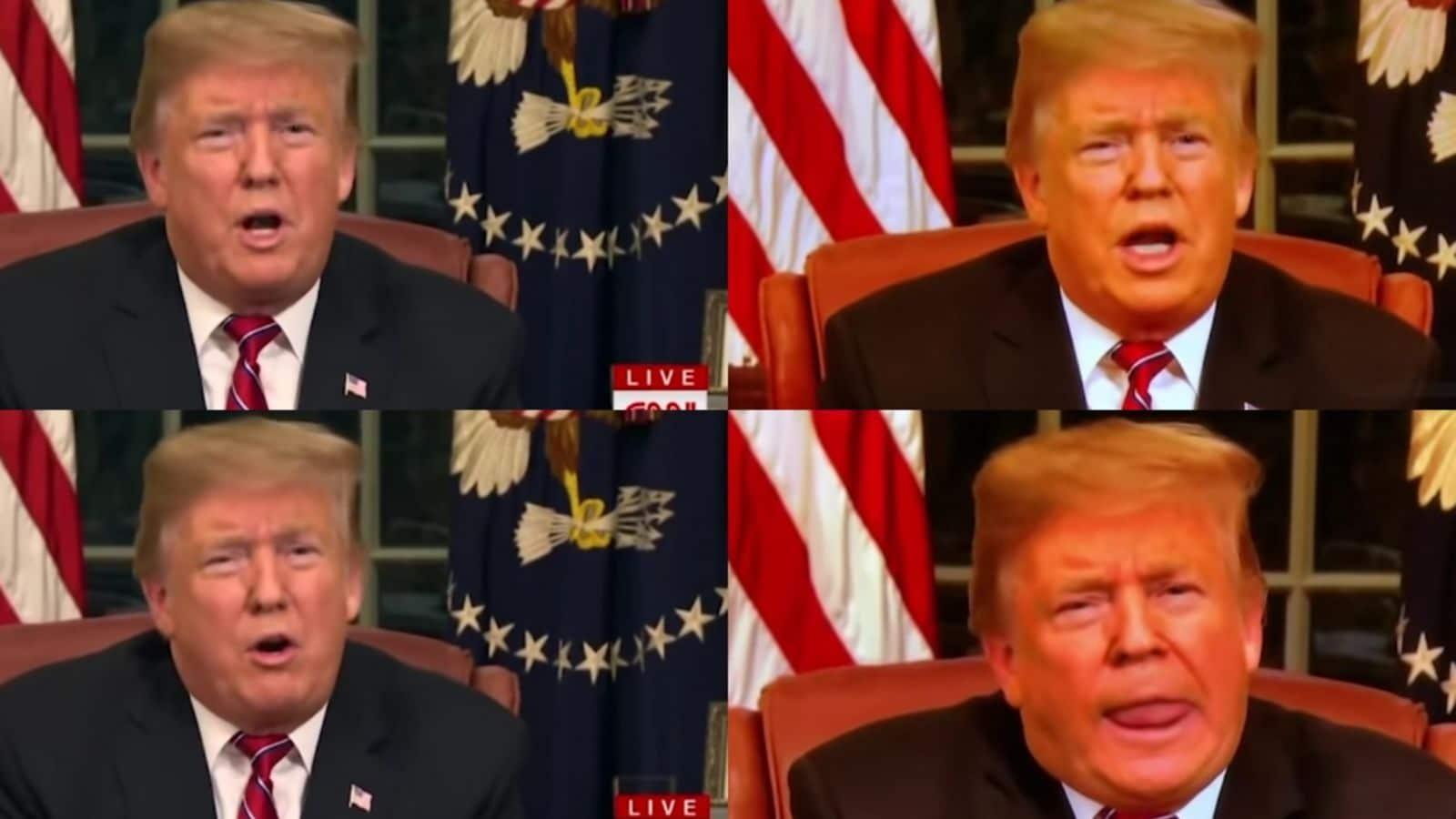 trump deepfake tech