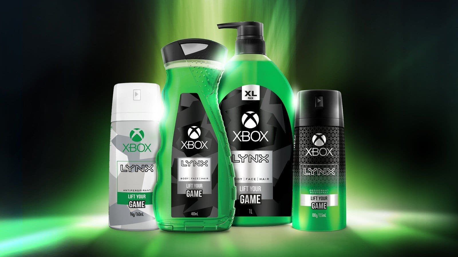 microsoft xbox body wash
