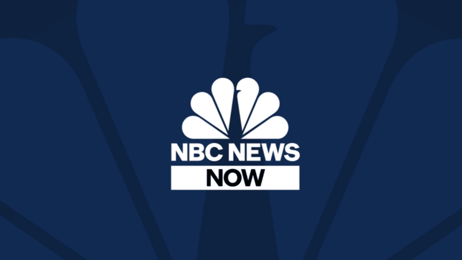 nbc news now logo on dark blue background