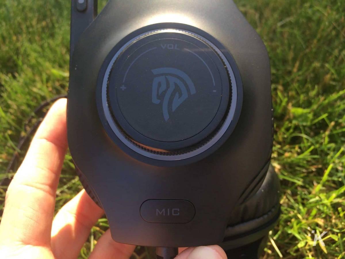 headphones in grass