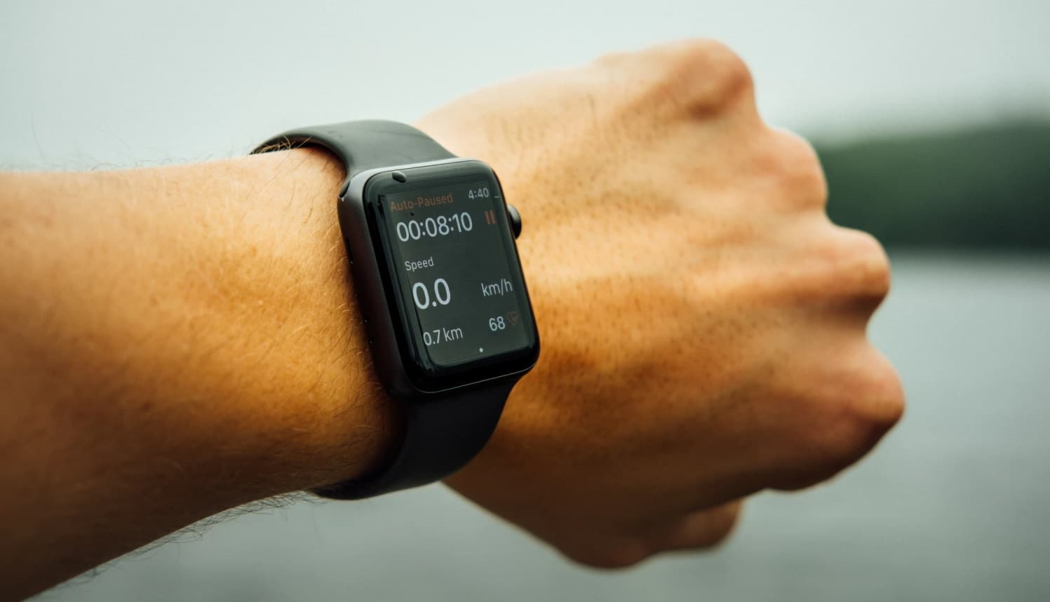 fitness monitoring on apple watch