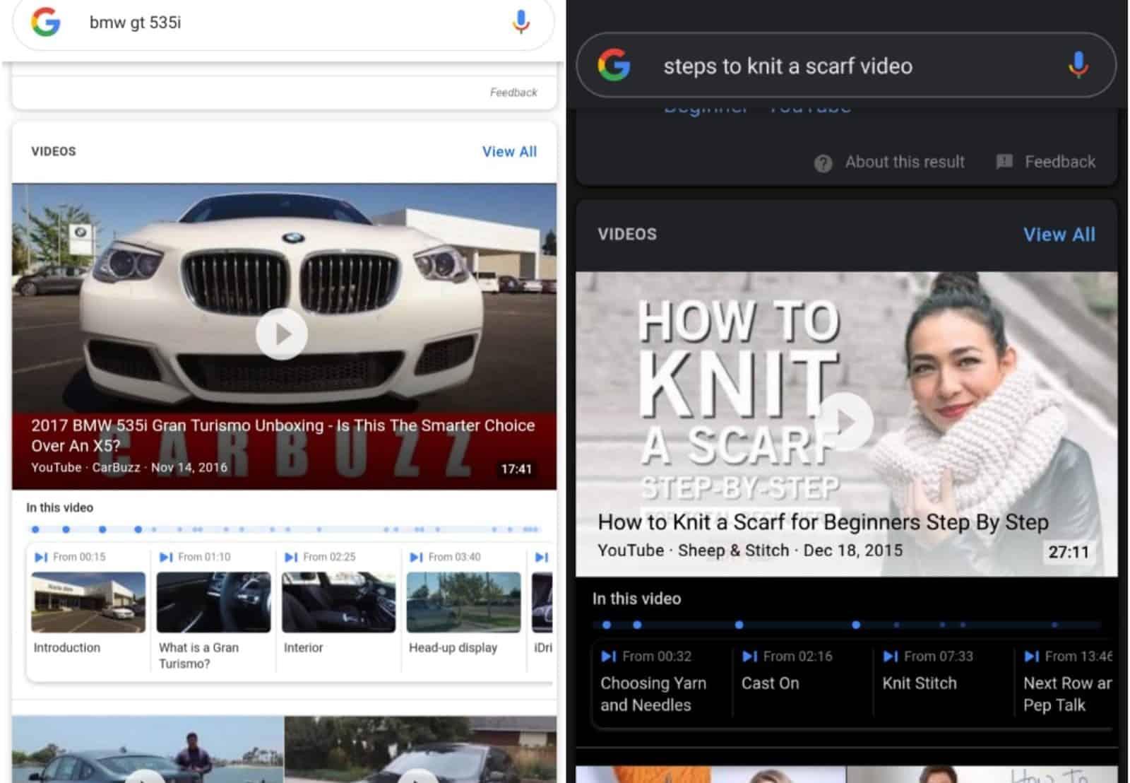google youtube bookmarks
