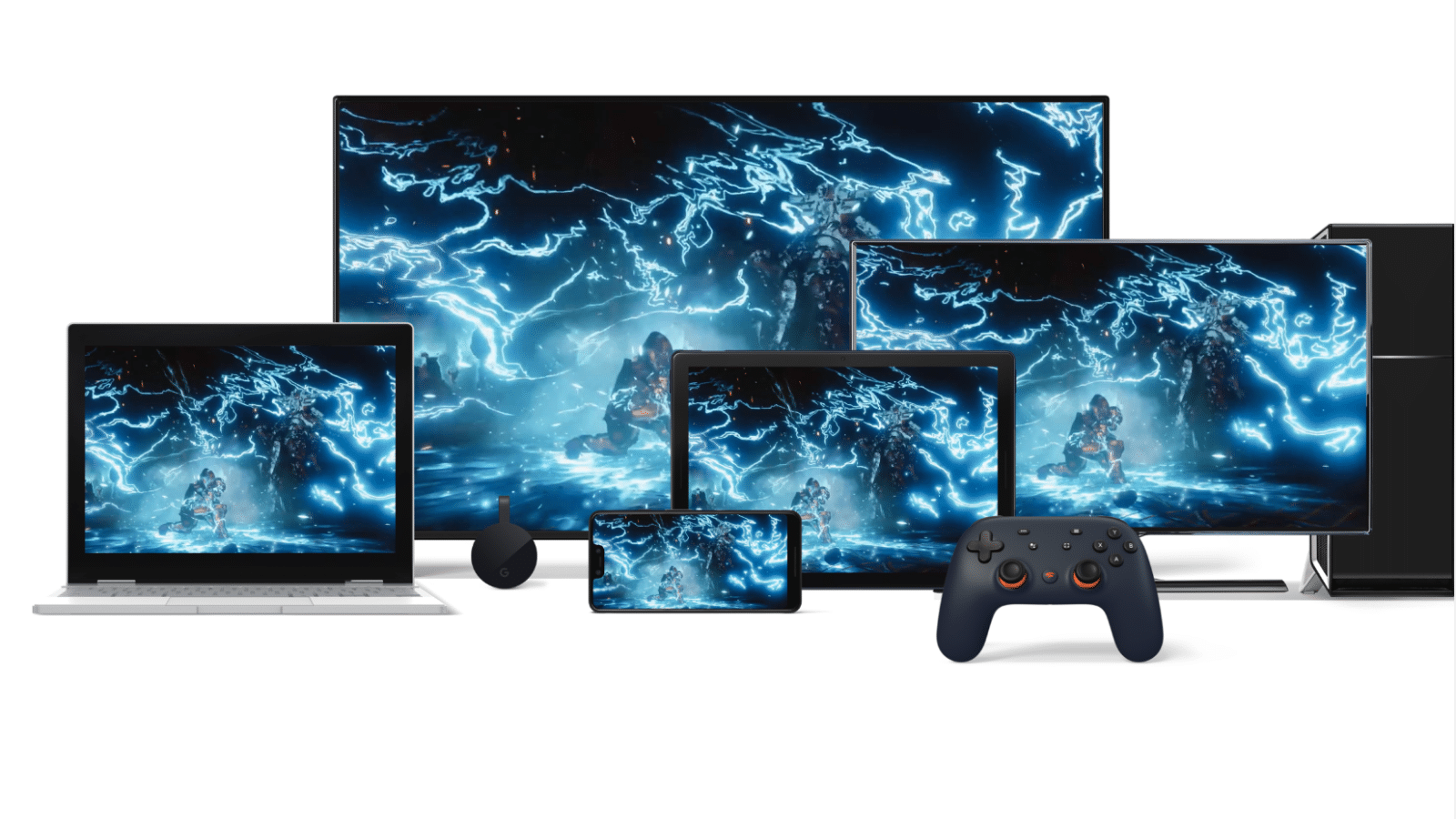 stadia on tv, tablets, more