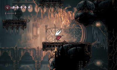 hollow knight silksong gameplay