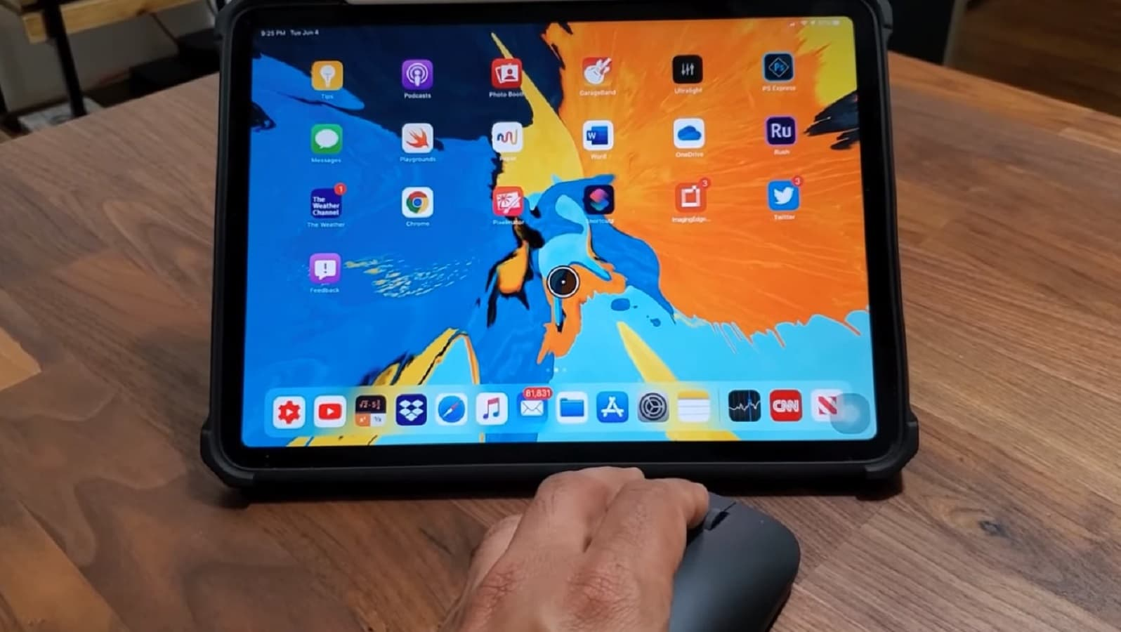 ipad with mouse support