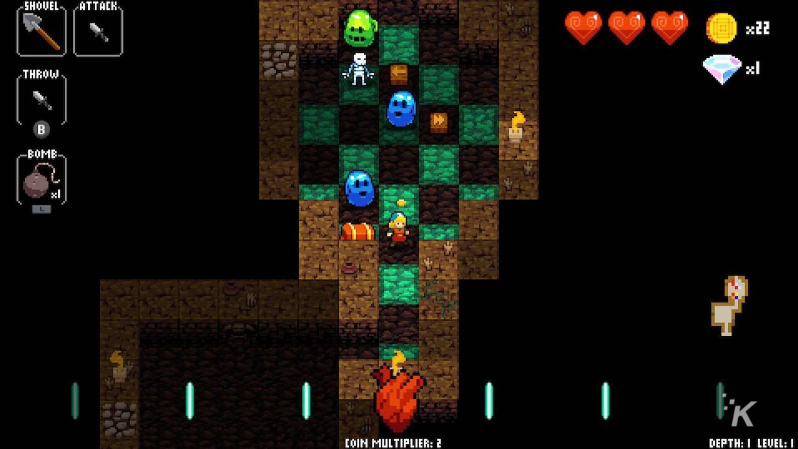 crypt of the necrodancer on nintendo switch