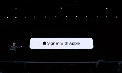 sign in with Apple button