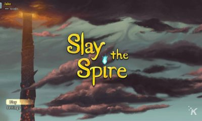 slay the spire title screen