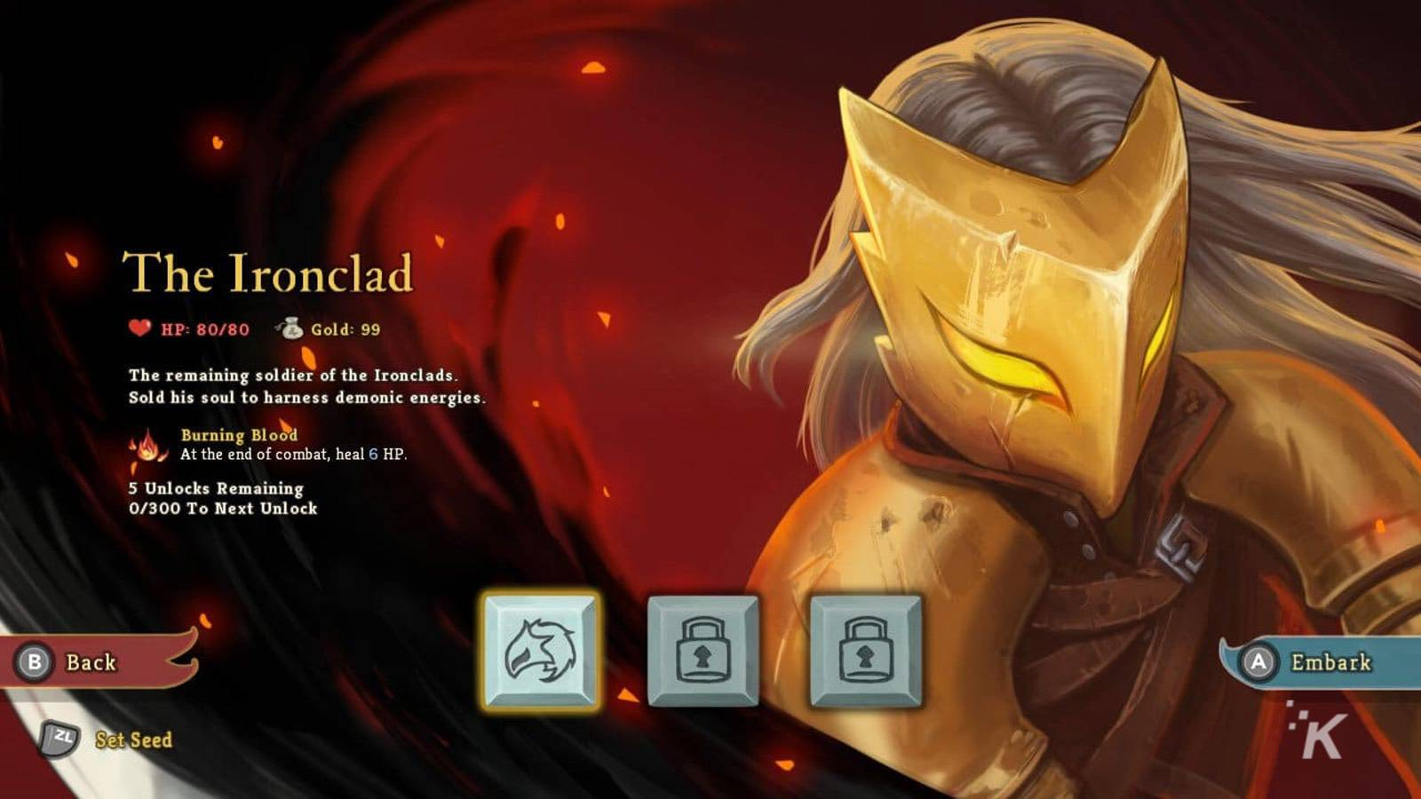 the ironclad card