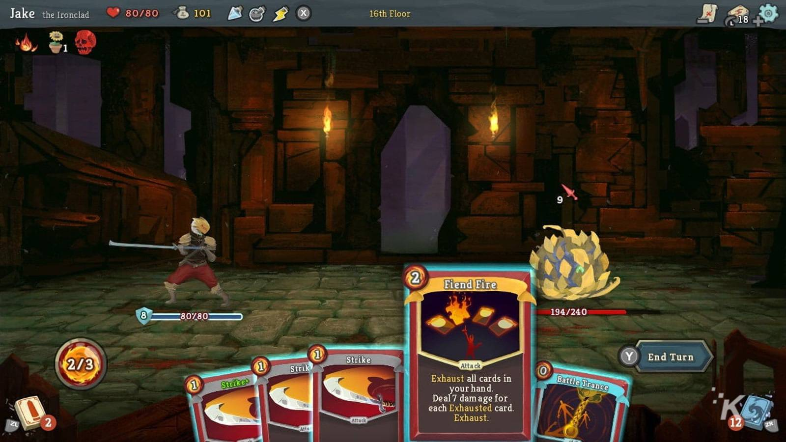 slay the spire card deck gameplay