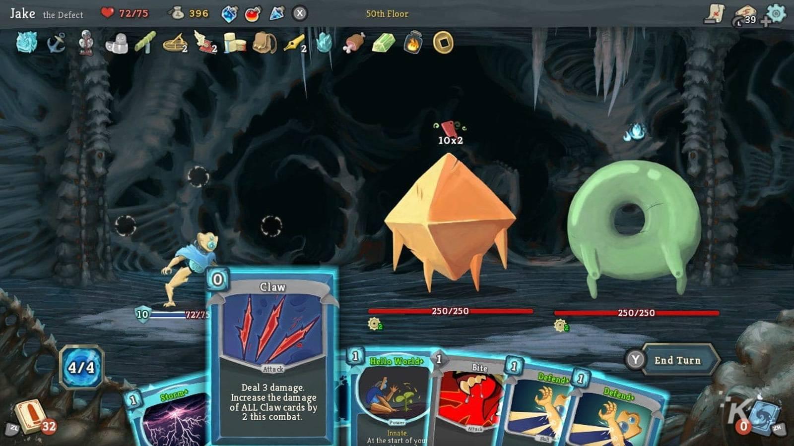 slay the spire card deck