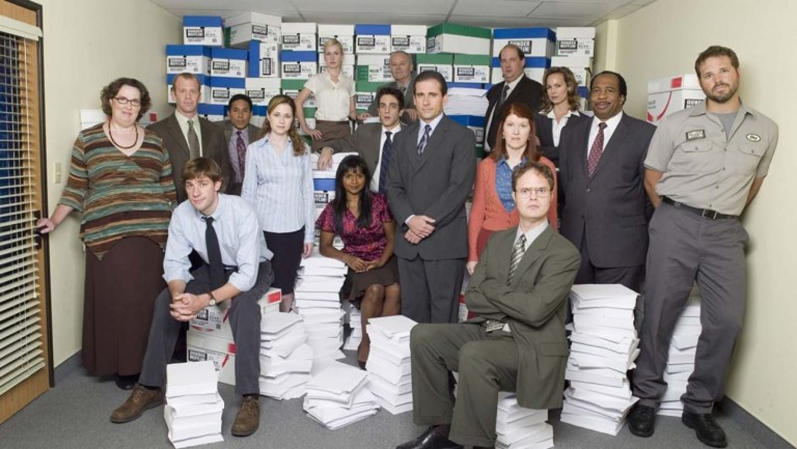 the cast of the tv show, the office