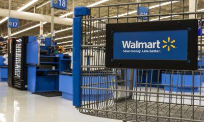 walmart cart in store