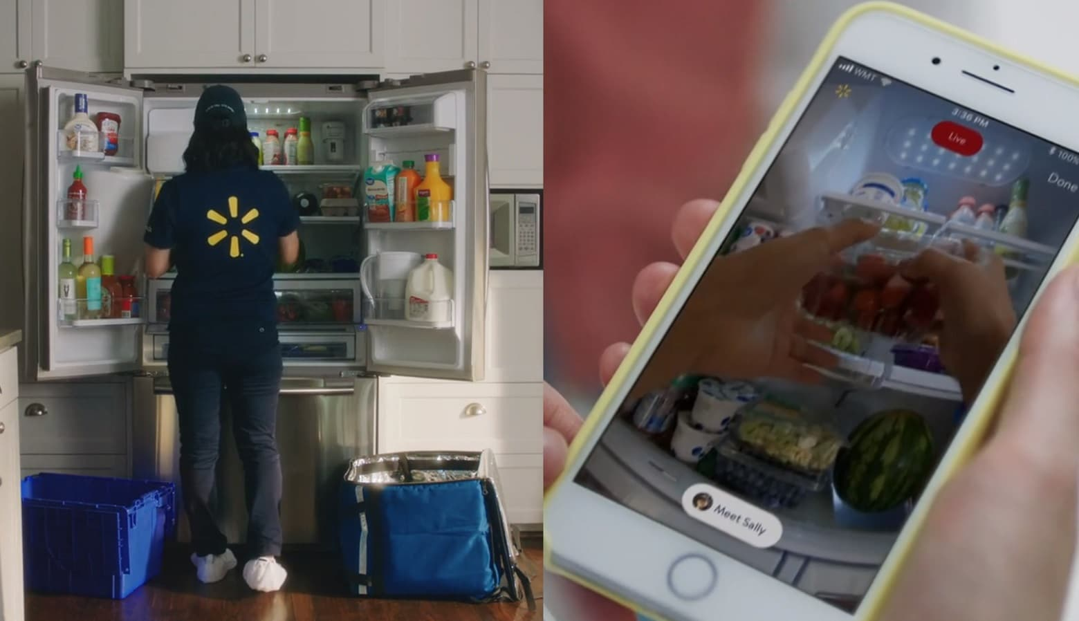Walmart Wants To Put Its Food Directly Into Your Fridge