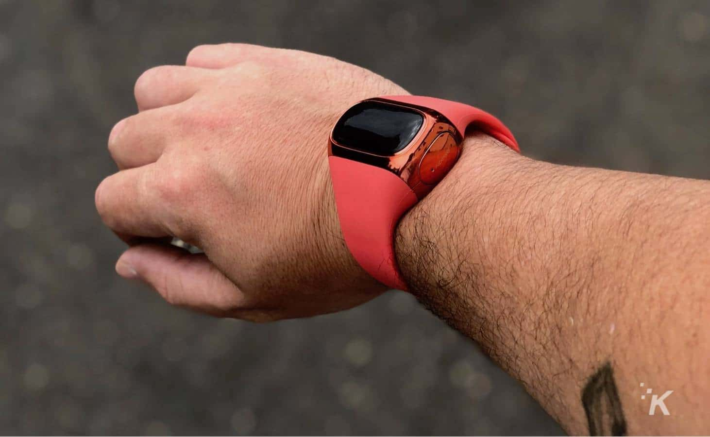 wearbuds kickstarter on kevin raposo wrist