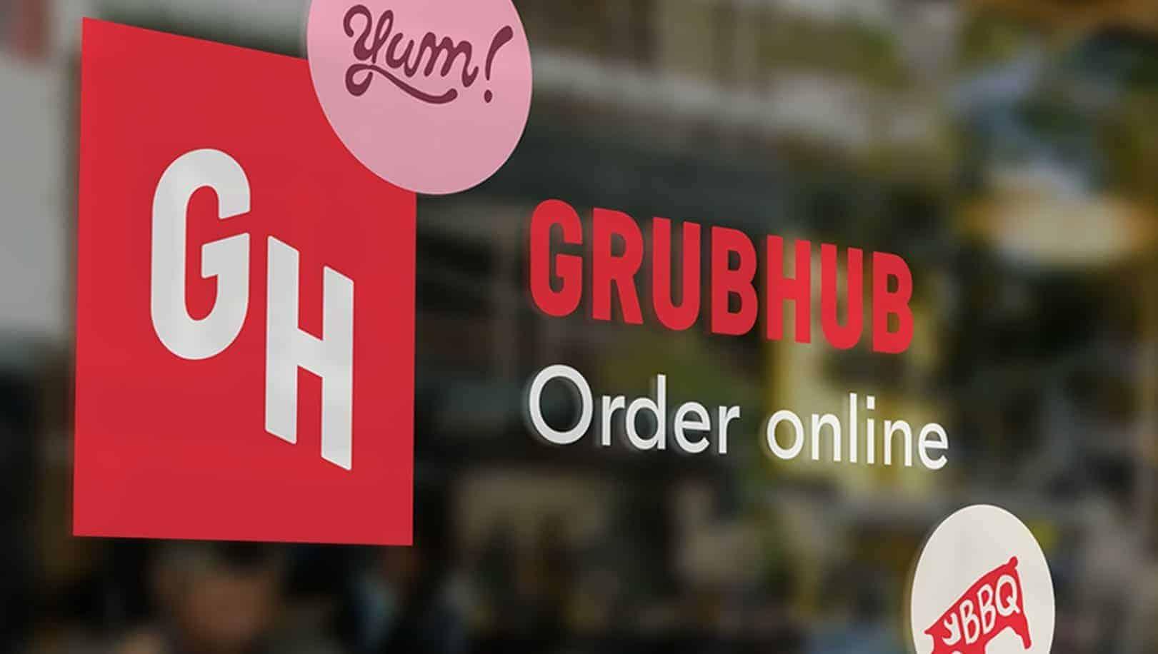 grubhub signage