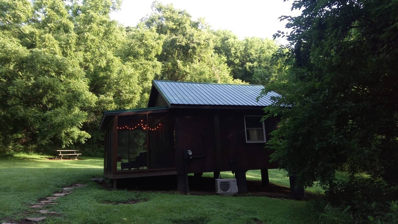 cabin in the woods without wi-fi