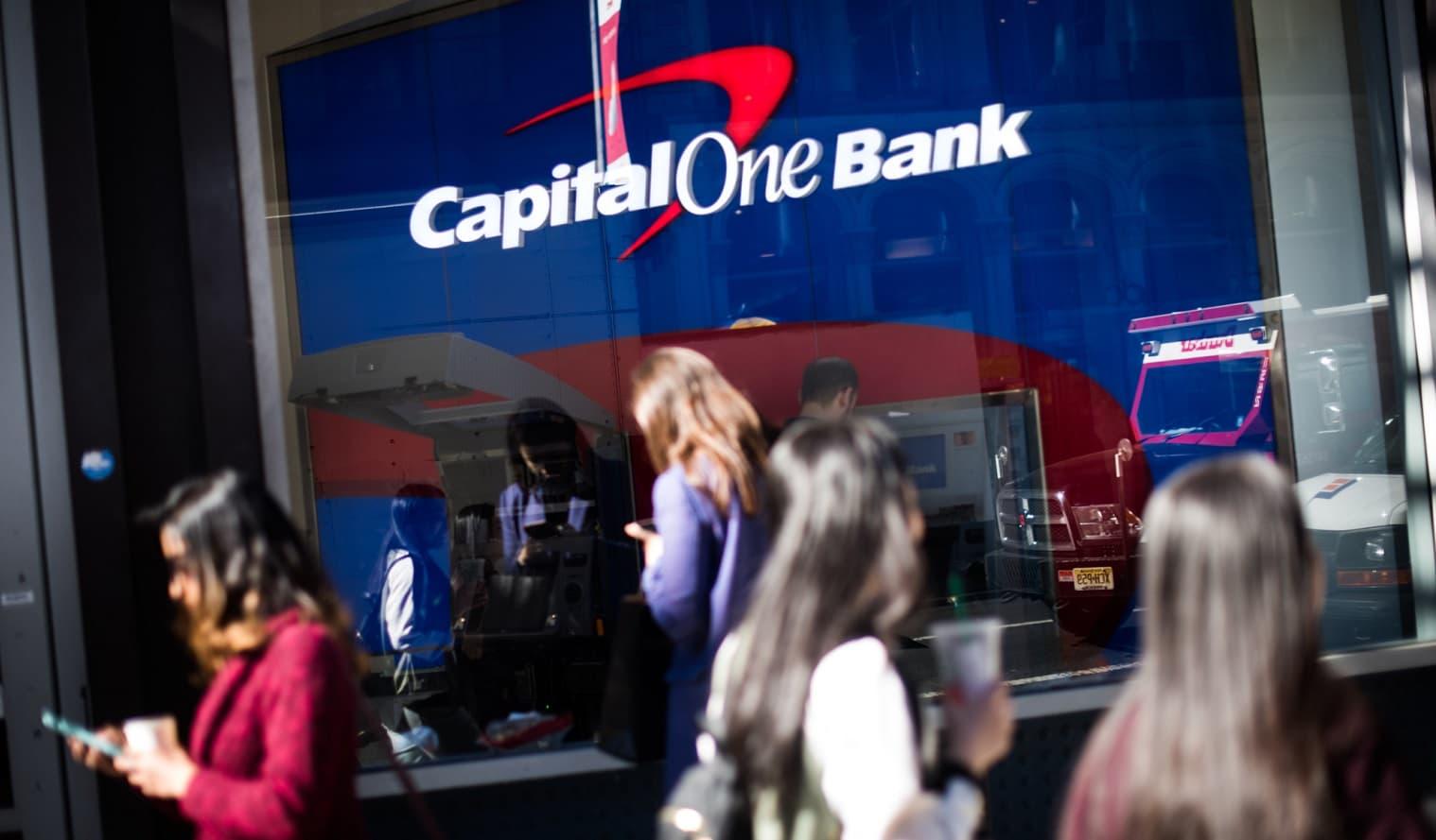 capital one signage