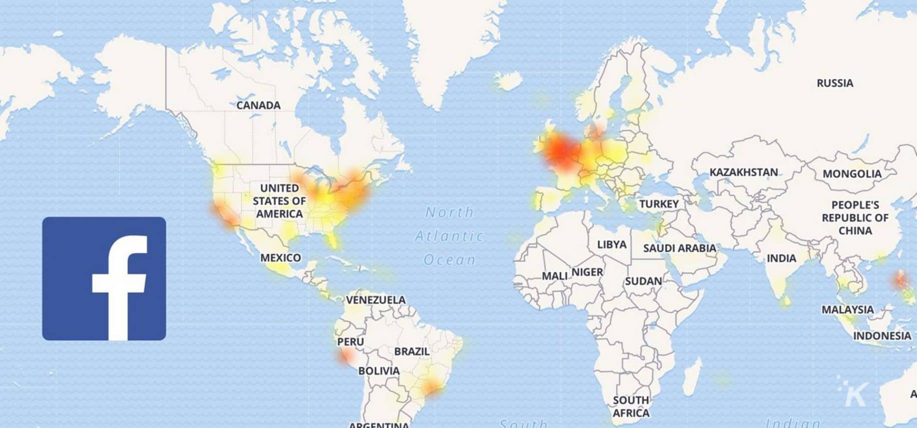 Facebook, Instagram, and WhatsApp are experiencing outages