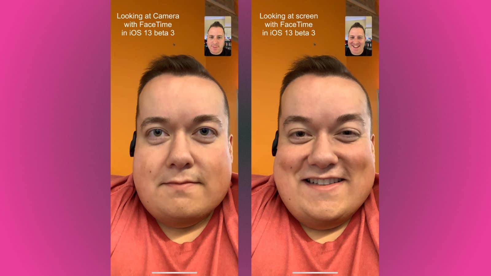 facetime camera correction