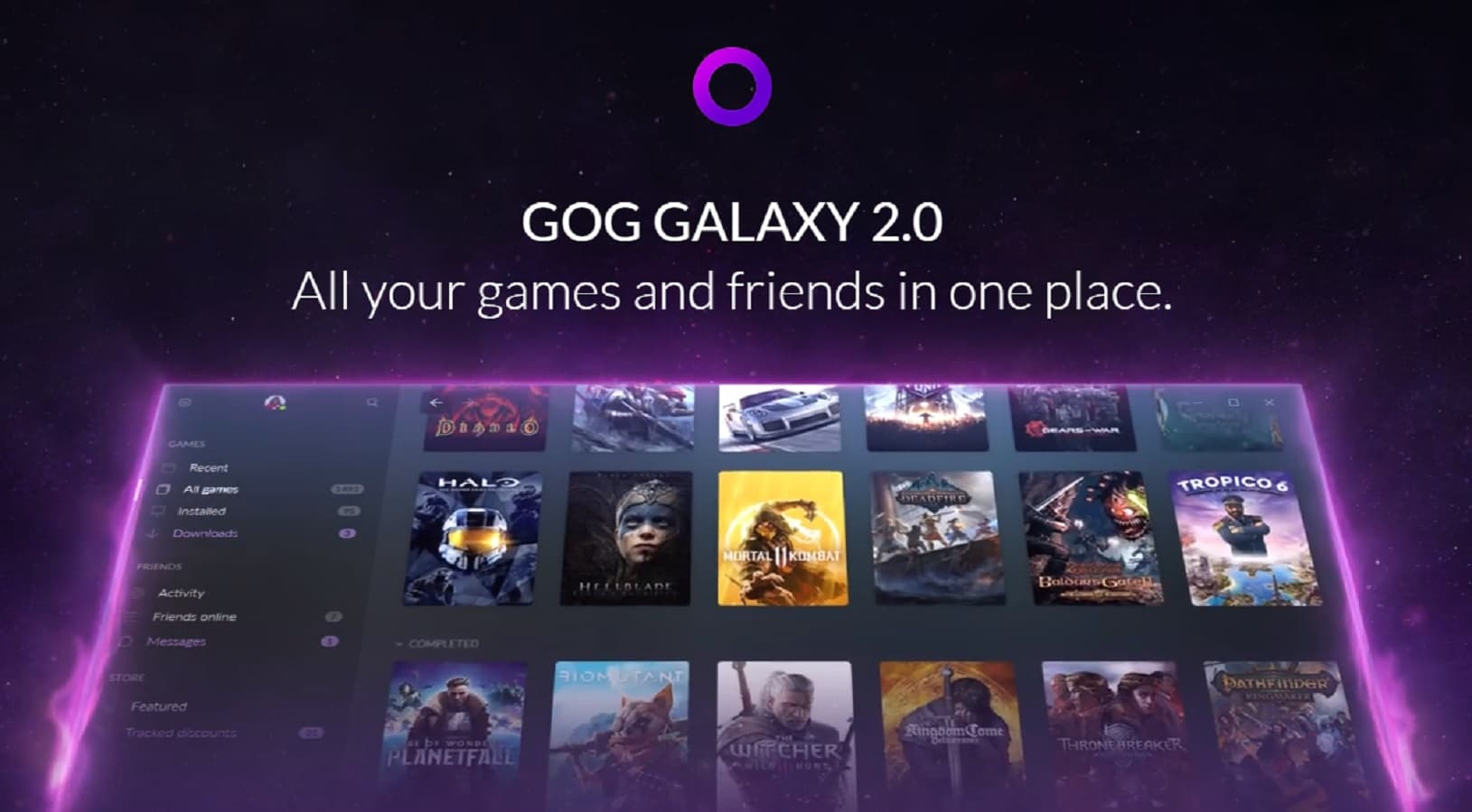 GOG Galaxy 2 0 helps bring almost all of your games under one roof