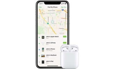 how to track apple airpods