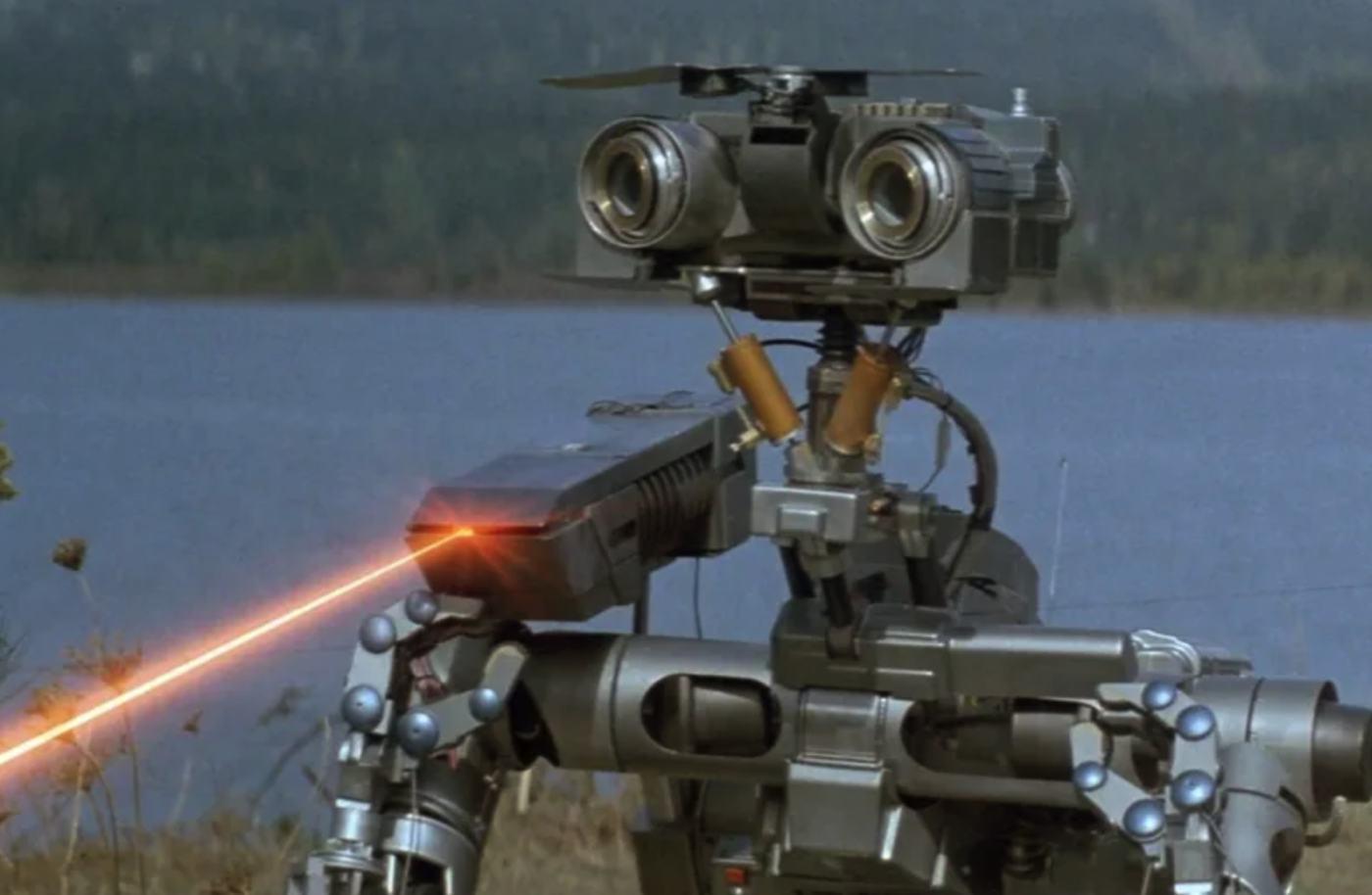 johnny 5 laser beam