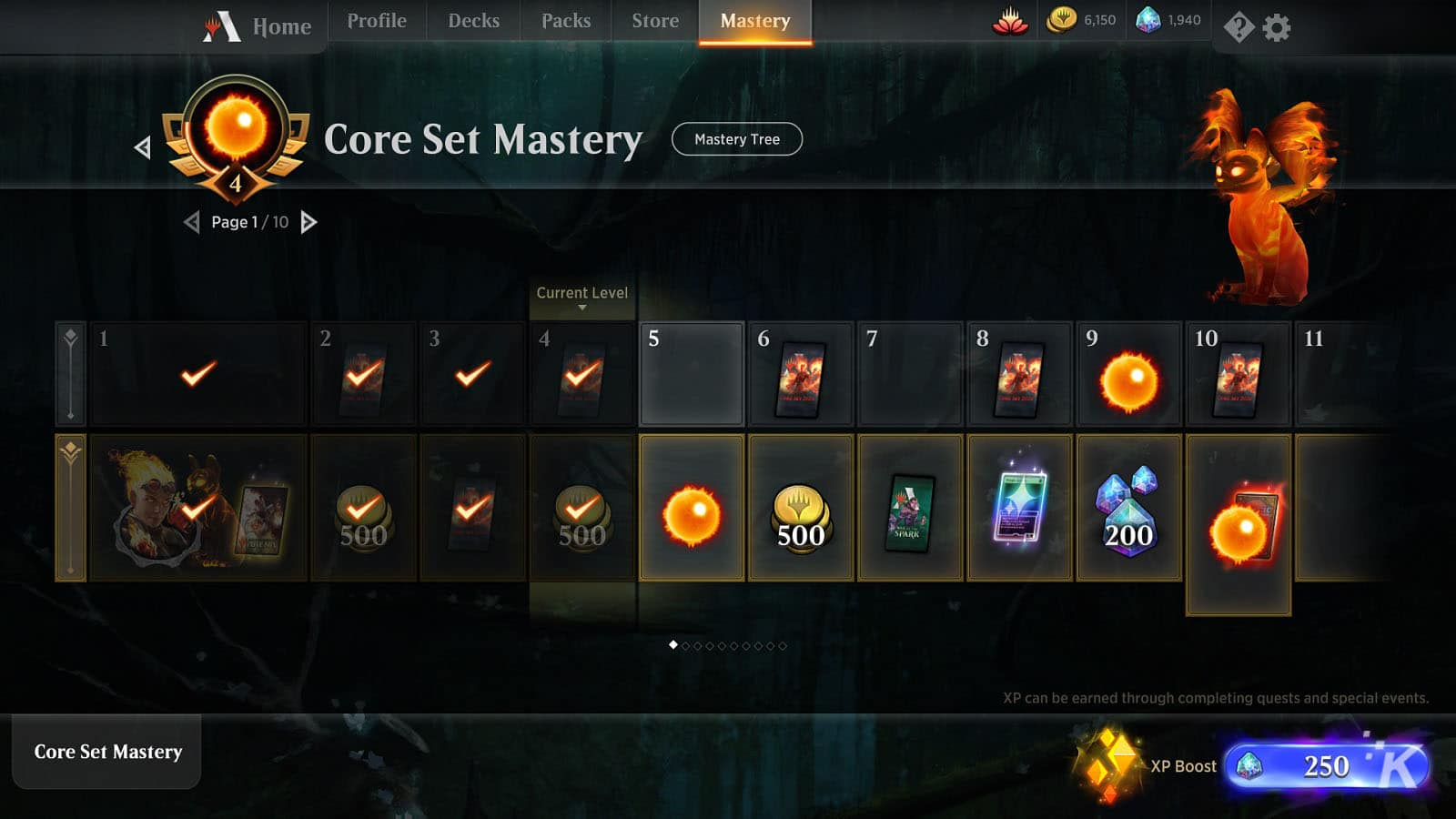 Magic: the Gathering Arena's battle pass system needs a bit