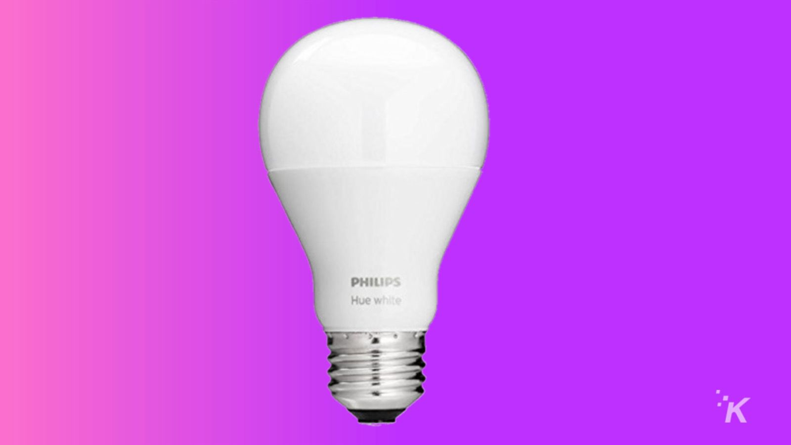 philips hue white bulb knowtechie