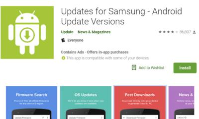 google play store fake samsung update app