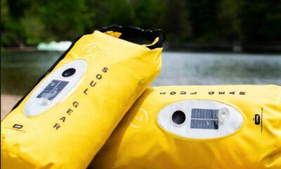 soul gear pouch on a lake