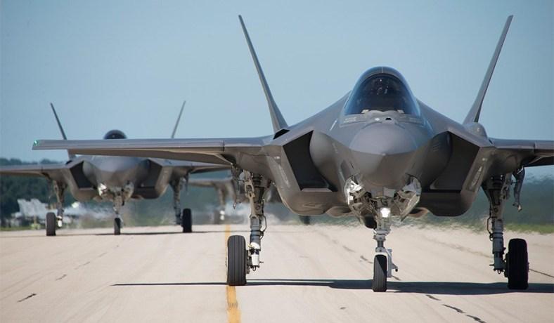 F-35C fighter jet