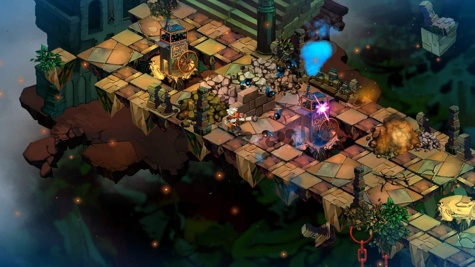 bastion gameplay from supergiant games