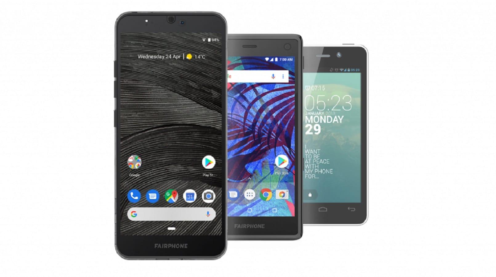 fairphone 3 smartphone
