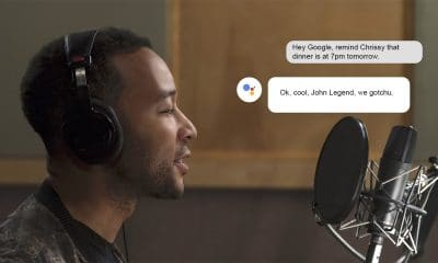 google assistant feature for reminders with john legend