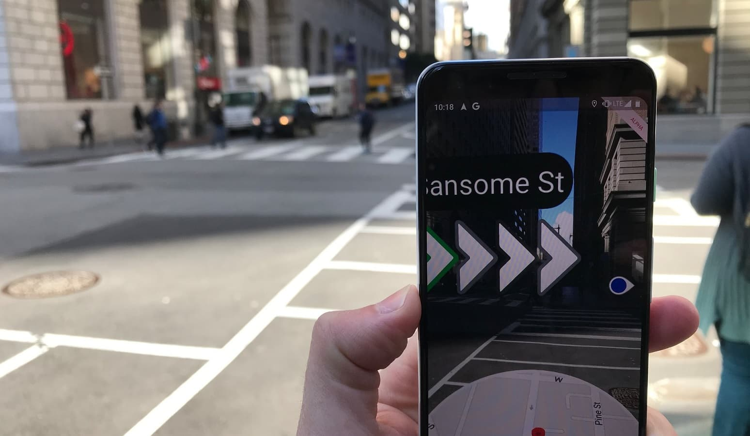 Here's how to use the new Google Maps AR feature