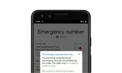 google pixel text-to-speech emergency system