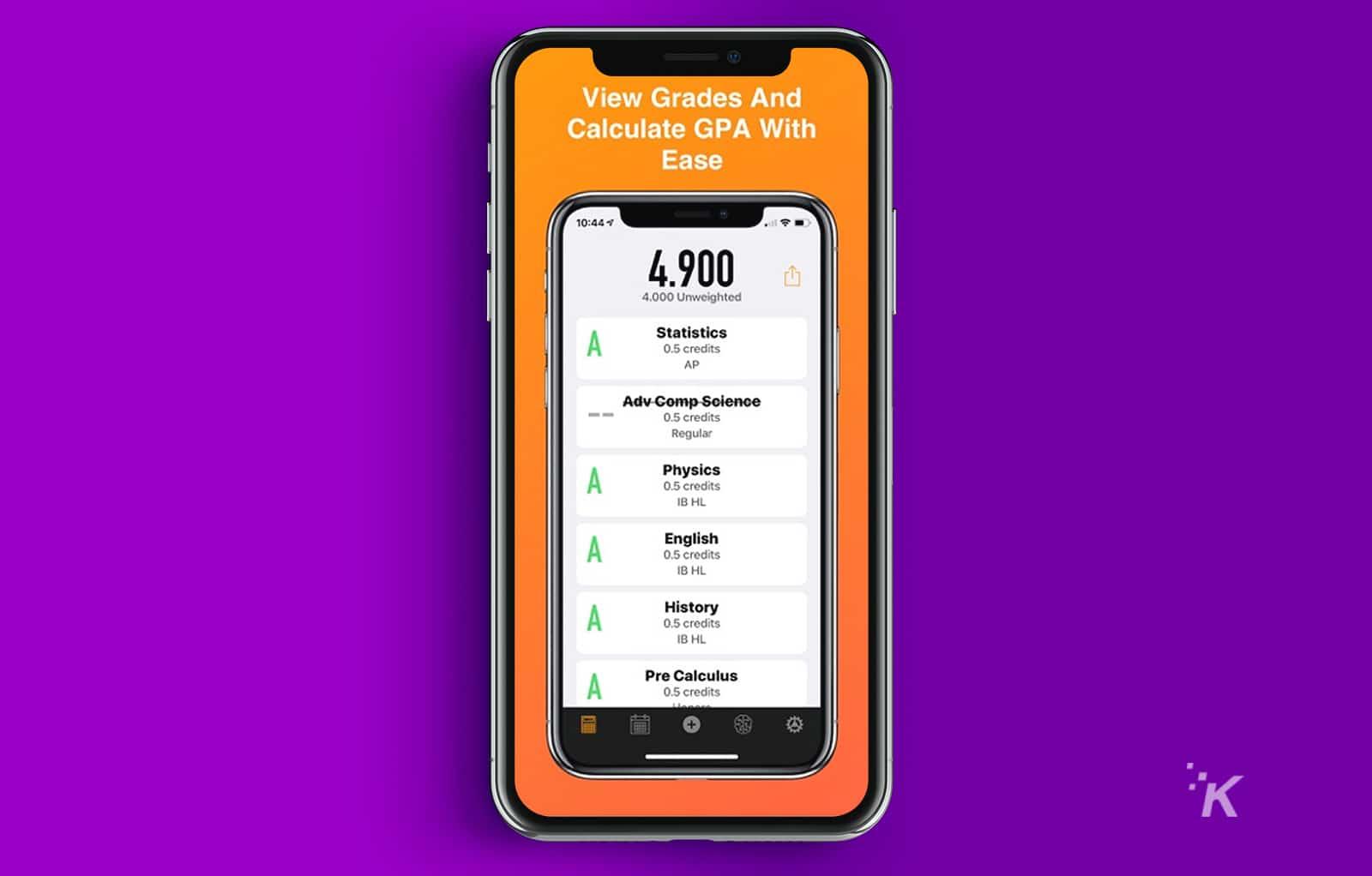 gradepoint gpa app for ios