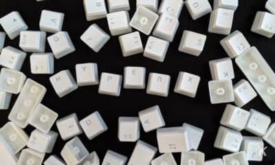 hyperx pbt white keycaps