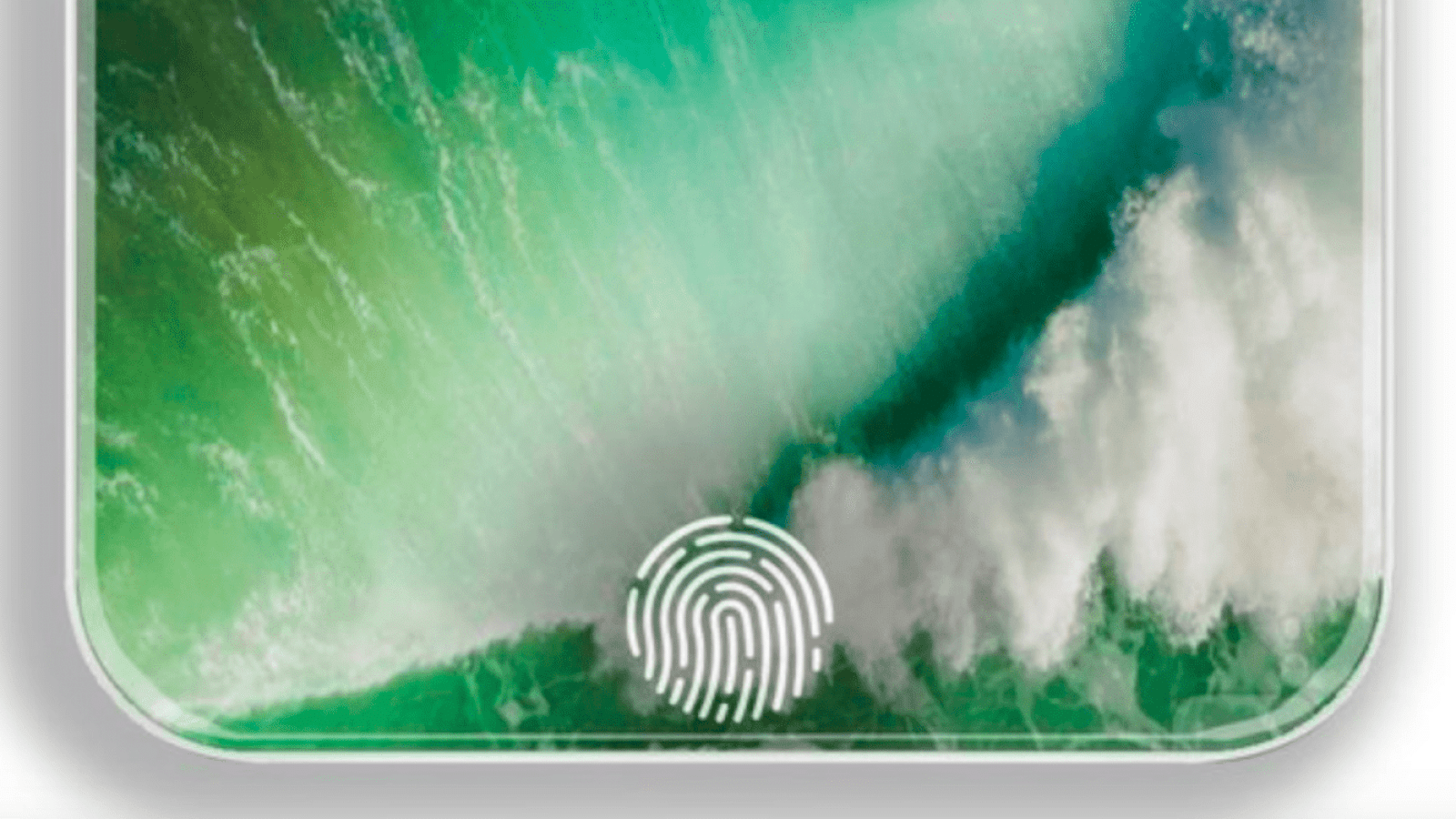 apple iphone in-screen touchscreen