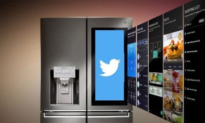 lg smart fridge tweet