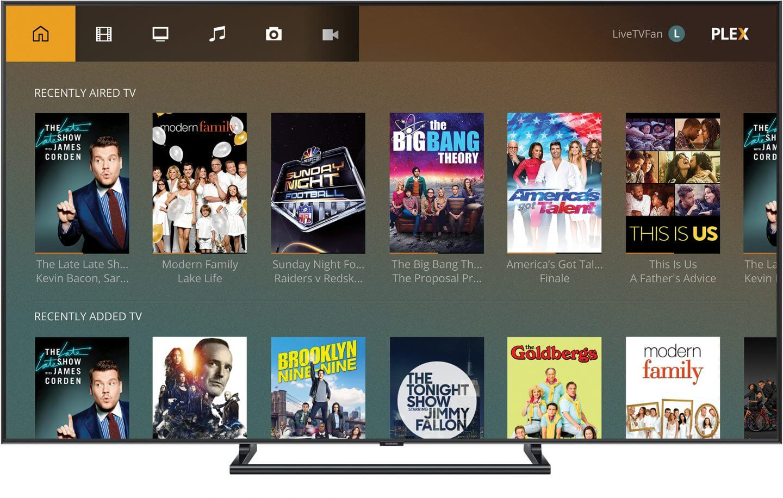 plex tv package