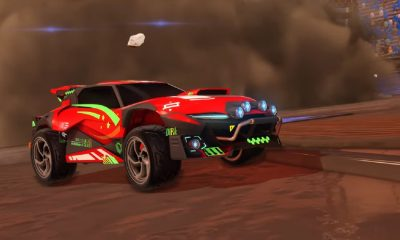 rocket league new car