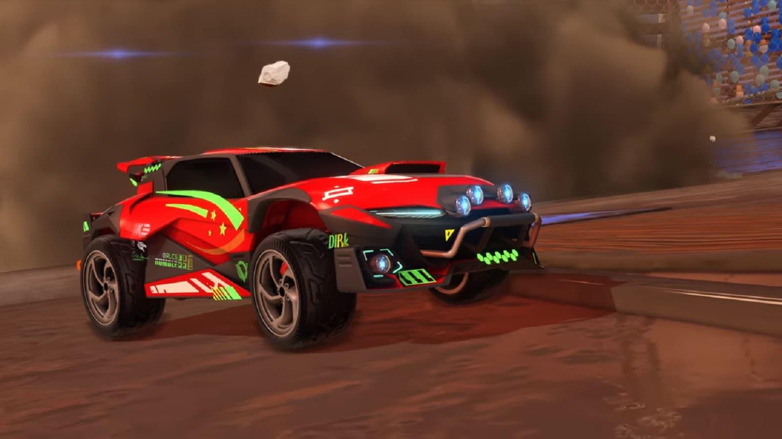 rocket league new car