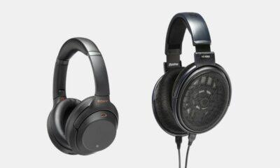 sony and sennheiser headphones