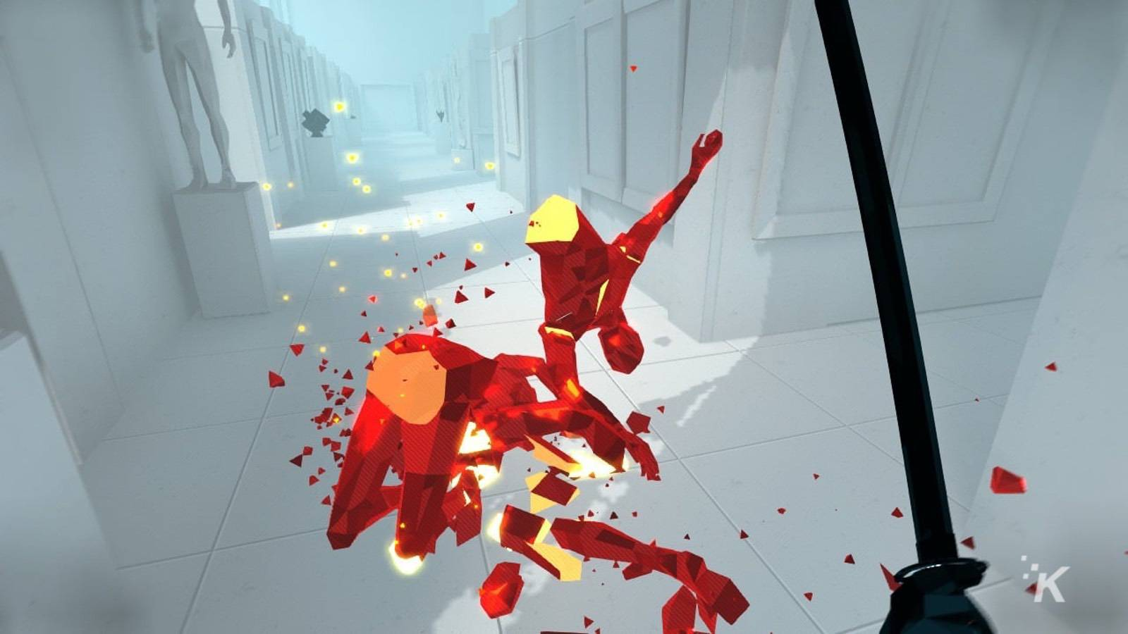 superhot review gameplay