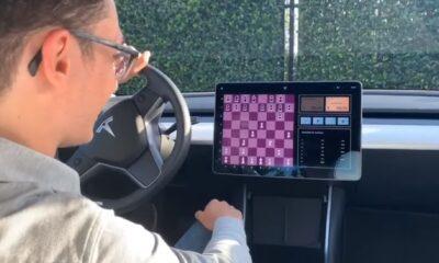tesla model 3 chess
